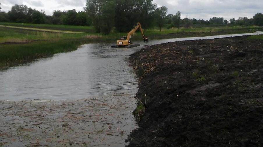 Performing work on cleaning the pond - Eridon Bud - Image - 5