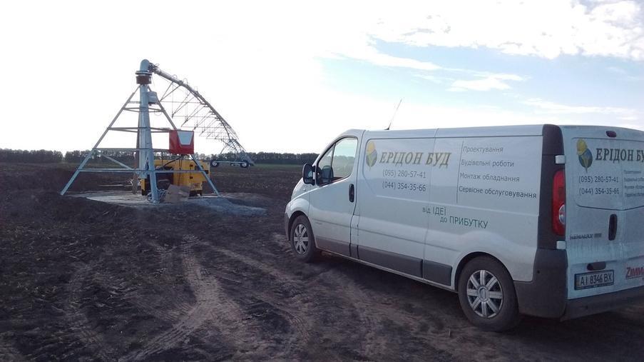 Будівництво трубопроводу і монтаж обладнання для СТОВ «СТЕБНЕ»  - Eridon Bud - Зображення - 2