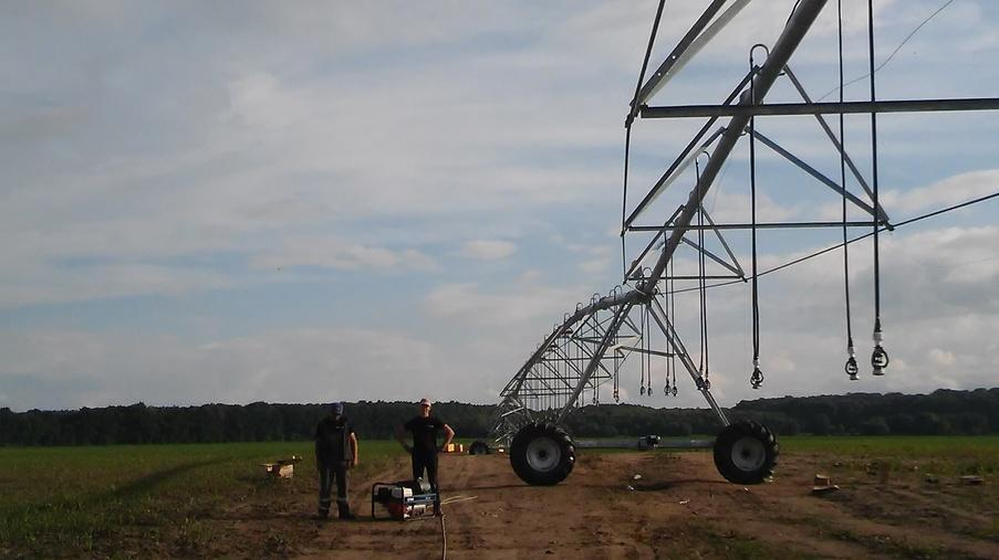 Будівництво трубопроводу і монтаж обладнання для СТОВ «СТЕБНЕ»  - Eridon Bud - Зображення - 5