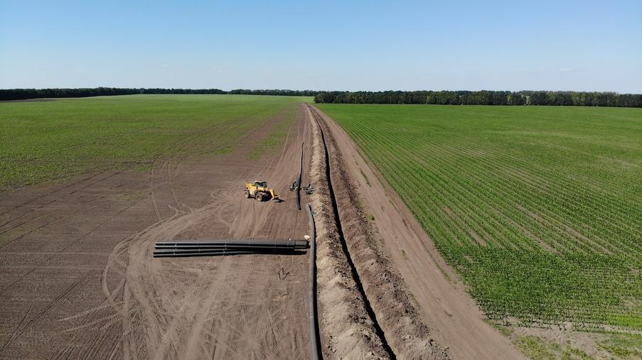 Строительство трубопровода и монтаж оборудования для ПАФ «Ерчики» - Eridon Bud - Изображение - 3