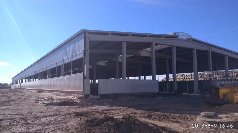 Реконструкція молочно-товарної ферми. Переяслав-Хмельницький район - Eridon Bud - Зображення - 5